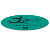 Girls Competitive Gymnastics Team Logo