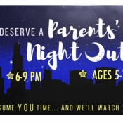Parents' Night Out! Logo