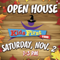 OPEN HOUSE - SATURDAY, NOVEMBER 2ND!