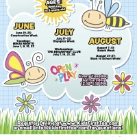 Summer Tumble Bees and Gym Jam Event Calendar